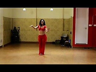 Dancing Exotic Hot Indian Juicy Striptease