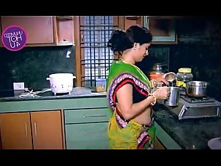 Fatty Housewife Indian Kitchen Wife