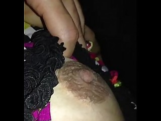 Boobs Nipples Sleeping Wife