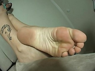 Couch Feet Fetish Foot Fetish High Heels Solo