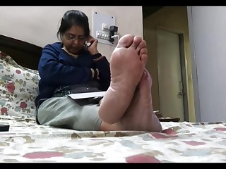 Feet Foot Fetish Indian Mature