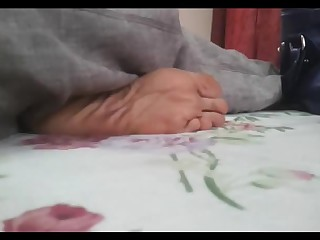 Feet Foot Fetish Indian Mature Solo