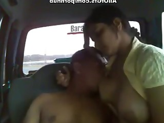 Amateur Big Tits Blowjob Boobs Car Fuck Indian
