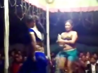 Dancing Indian Public Really Striptease